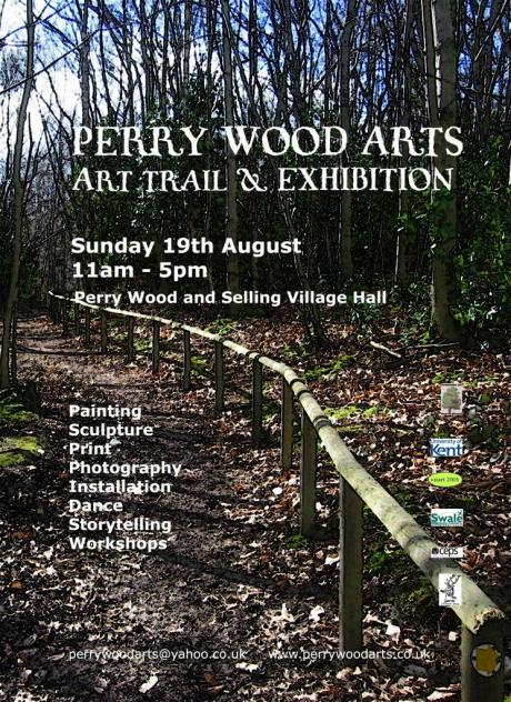 Art Trail Exhibition Flyer