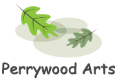 Perrywood Arts logo (green)