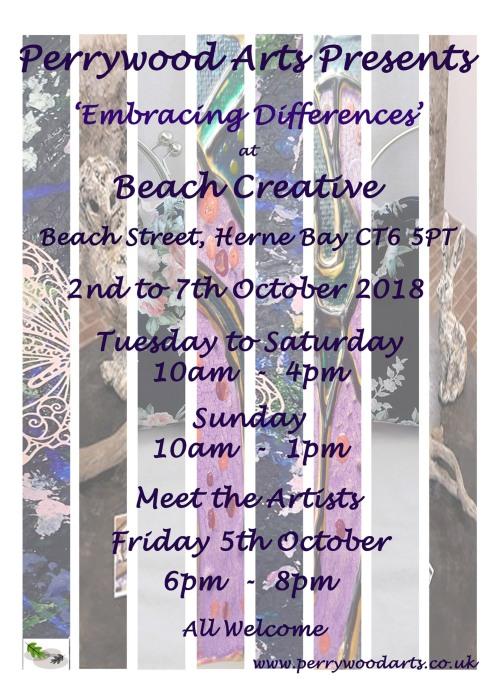 Beach Creative Poster